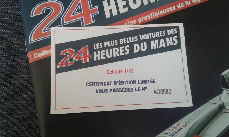 1//43 Ferrari F458 GT AM 8Star Motorsports 24 H du Mans 2013 FFSMC Productions