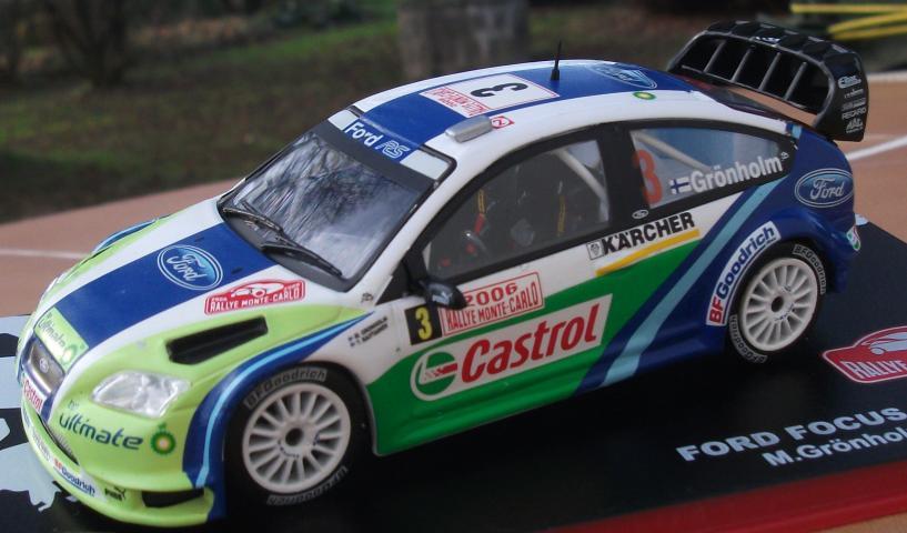 RD4B  1//43 IXO Direkt Rallye FORD FIESTA RS WRC Monte Carlo 2016 R.KUBICA